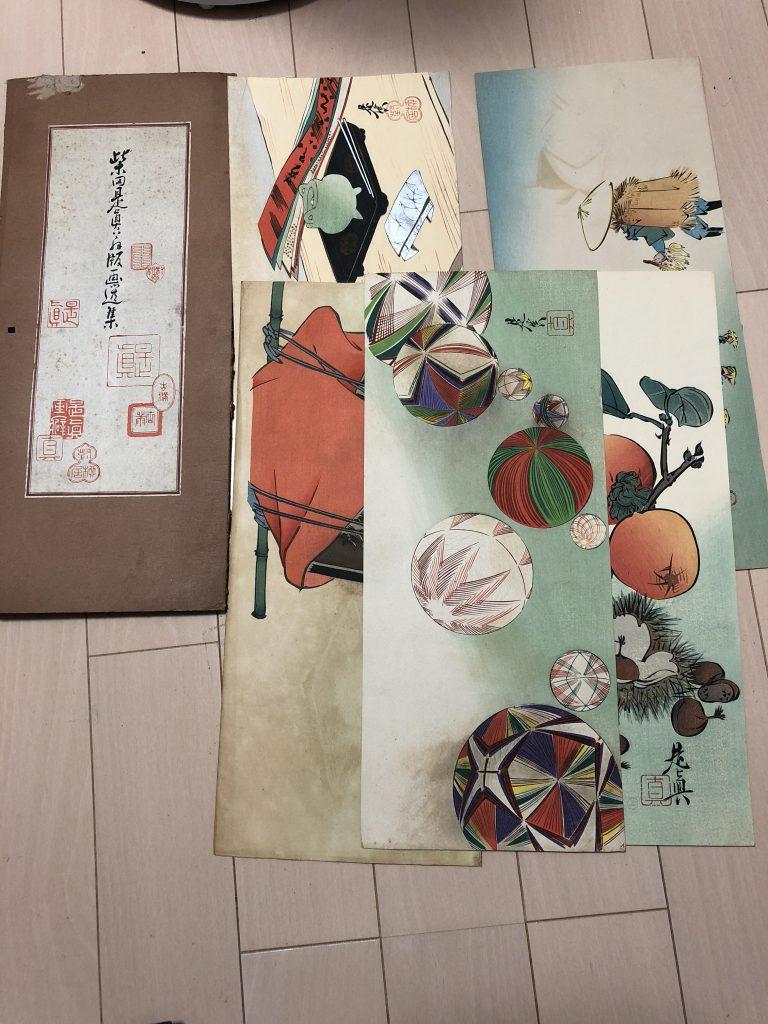 【岡山県】版画集(柴田是真)のお買取りをいたしました。