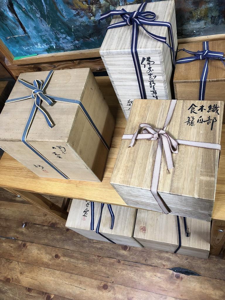 【岡山県玉野市】陶芸品一式のお買取りをいたしました。